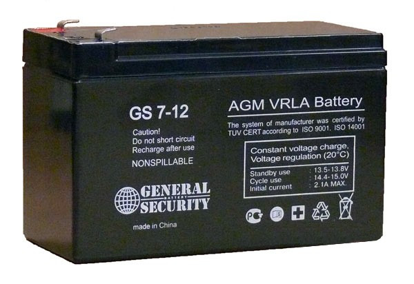 General Security GS 7-12